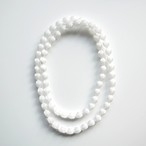 PURE PLEATS _ NECKLACE _ 小粒(WHITE)