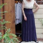 Cotton Tiered Skirt / コットン ティアード スカート