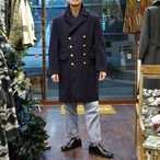 Swedish Navy Wool Coat / スウェーデン海軍 ダブル ウールコート Pea Coat