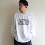 is-ness music【 mens 】compact disco  long sleeve t-shirts
