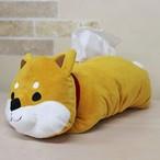 【しばたさん】ティッシュボックスカバー【柴犬 犬グッズ】
