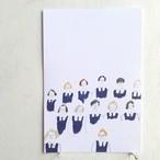 Post Card ポストカード「女生徒」