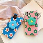 【オーダー商品】グリップ付き Summer flower iphone case