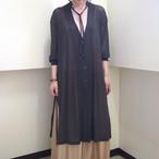 【hippiness】tulle over cardigan(black) /【ヒッピネス】チュール オーバー カーディガン(ブラック)