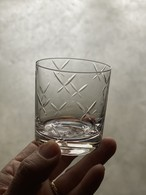 h collection SEMI CRYSTAL SHOTGLASS(BUTTERFLY)