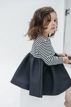 BORDER BALLERINA LONG T-DRESS【NEW】