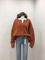 ピュアオーバーフィットウールカーディガン カーディガン ニット セーター 韓国ファッション
