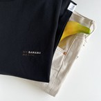 NO BANANA NO LIFE.Tシャツ/ブラック