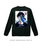 "STAY GOLD "" MEGURU YAMAGUCHI × KYNE "" 2017  Long-sleeve shirts / black"