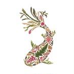 入荷しました|2020春夏【Paperproducts Design】バラ売り2枚 ランチサイズ ペーパーナプキン Green Koi ホワイト