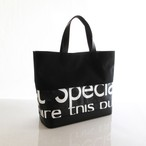 Tote Bag (S) / Black  TSB-0012