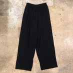 Black Easy Pants ¥5,000+tax