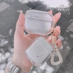 Liquid Glitter Pearl airpods1/2 Pro case