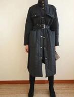 ぺディングポケットロングコート ロングコート コート 韓国ファッション