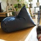 デニム調(撥水加工)NYブルックリン風ビーズクッション Rg ソファ 座椅子 日本製