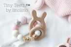 【歯固めリング】コットンピンク | おしゃれな歯固めジュエリー linolino - 町田で ワークショップも開催中