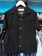 S / S シャツ ブラック