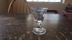 19世紀後期 フランス 型吹きガラス製 リキュールグラス