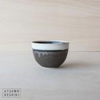 [トキノハ]shiro-kuro 碗 小(黒)