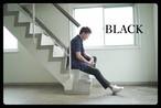 入荷!メンズ限定カラー ブラックピケトラウザーズ 黒パンツ