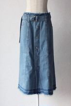 【SAYAKADAVIS×SERGE de bleu】Denim Button Skirt-used