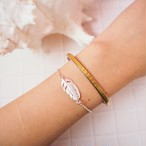 Feather Silver Chain Bracelet《SILVER925》18380434