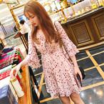 【dress】女子必見甘美な姿スウィートスカタップスリーブワンピース 22492573