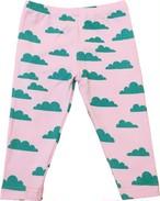 雲総柄フルレングススパッツ(ピンク)