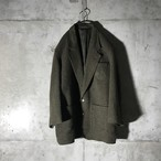[GIVENCHY] patch pointed tailored jacket