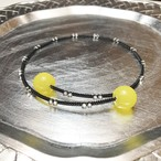 candy choker 【SV+黒糸】lemon