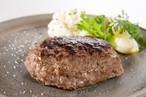 塩で食べる黒毛和牛ハンバーグ10個入り(A4〜5等級)/石川はちみつ牛