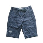 WEB STORE限定!!JACQUARD CAMOUFLAGE STRETCH SHORT PANTS   BW-502S NAVY