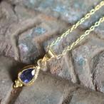 Jaipur gem ネックレス -iolite-