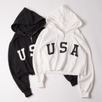 USA Cropped Sweatshirt 2SS012-18 |インスタでも話題の海外セレブ系レディースファッション Carpe Diem