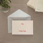 [Beesket Studio] Like You, Postcard (2セット入り)