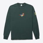 Duck LS Tee(Dark Green)
