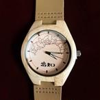 竹製時計 クオーツ式 ~高知県地図版~ 一週間以内での発送予定