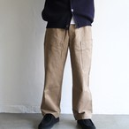 STILL BY HAND【 mens 】big pocket pants