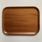 60-70's W.Germany Vintage Wood Tray _04(西ドイツ ヴィンテージチークトレイ)