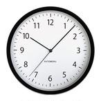 KATOMOKU muku round wall clock 4 km-57BRC 電波時計
