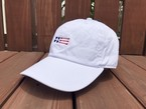 USA ArrowFlag刺繍CAP(white)