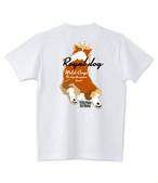 No.2020-royaldog-0001-71  : オーセンティック スーパーヘヴィーウェイト 7.1オンス へヴィーウェイト Tシャツ ロイヤルドッグシリーズ バックスタイル茶色