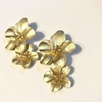 no.155 gold twin flower