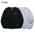 CRIMIE / CR1-02L5-CL56 / SWEAT CREW NECK