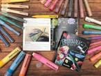 テキストブック「POSTCHALKで描くボードアートテクニック・アイデア集」