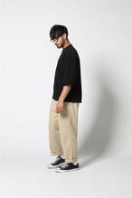 edit clothing  Heavy weight over size 3/4 sleeve(ヘビーウエイトオーバーサイズ3/4スリーブ/ブラック)