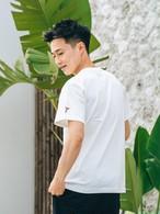 【7/7(WED)20:00 販売開始】Side Aloha Patch S/S TEE (white)