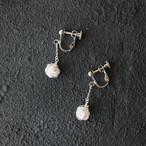 [silver999] 純銀クロッシェボールイヤリング(小)