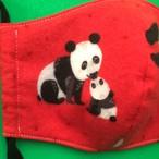 レディースファッションマスク  親子パンダ  2
