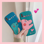 【オーダー商品】 Cute dinosaur iphone case